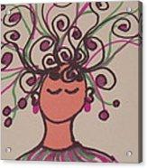 Jangle Girl Acrylic Print