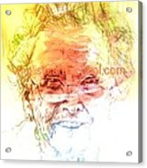 Janice Acrylic Print