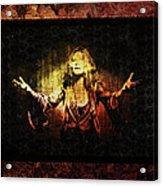 Janis Joplin - Gypsy Acrylic Print
