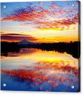 Jantzen Beach Sunrise Acrylic Print