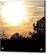 January 2013 Sunset Acrylic Print