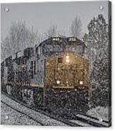 January 23. 2015 - Csx T103-3 Acrylic Print