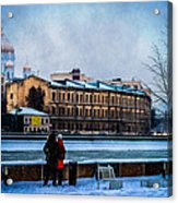 January Afternoon Acrylic Print