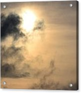 January Sunset After The Storm Acrylic Print