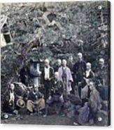 Japan Group Portrait, C1866 Acrylic Print
