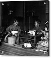 Japan Tea Party Acrylic Print