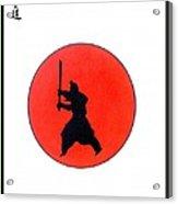 Japanese Bushido Way Of The Warrior Acrylic Print