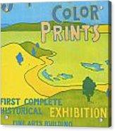 Japanese Color Prints 1896 Acrylic Print