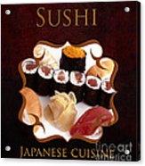 Japanese Cuisine Gallery Acrylic Print