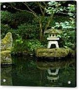 Japanese Garden Calmness Acrylic Print
