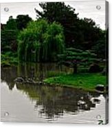 Japanese Garden Point Acrylic Print