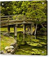 Japanese Garden Tokyo Acrylic Print