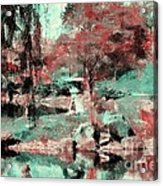 Japanese Garden's Acrylic Print