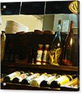 Japanese Kitchen And Sake Selection Acrylic Print