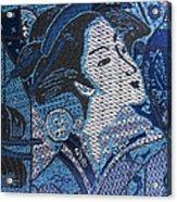 Japanese Lady Acrylic Print