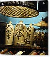 Japanese Sake Perfection Acrylic Print