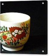 Japanese Tea Cup Acrylic Print