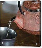 Japanese Tea Acrylic Print