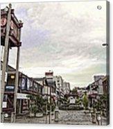 Japantown - Nihon Machi - San Francisco Acrylic Print