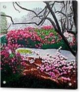 Jasmine Hill Gardens Acrylic Print
