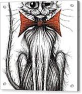 Jasper The Cat Acrylic Print