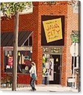 Java City Acrylic Print