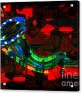 Jazz At Midnight Acrylic Print