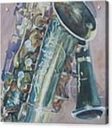 Jazz Buddies Acrylic Print