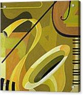 Jazz Acrylic Print