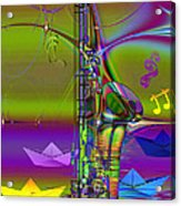 Jazz Chill Acrylic Print