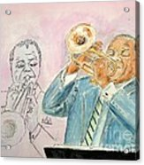 Jazz Dream Team   Acrylic Print