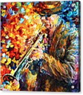 Jazz Feel Acrylic Print