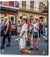 Jazz Funeral...the Second Line 4 Acrylic Print
