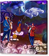 Jazz In Heaven Acrylic Print