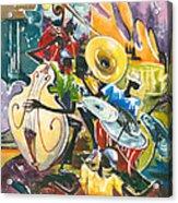 Jazz No. 4 Acrylic Print