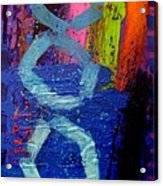 Jazz Process - Improvisation Acrylic Print