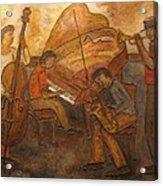 Jazz Quartet Acrylic Print