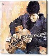 Jazz Rock John Mayer 02 Acrylic Print