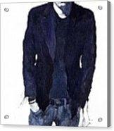 Jazz Rock John Mayer 07 Acrylic Print