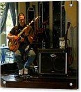 Jazzman Jorge - Limehouse Blues Acrylic Print by Shawn Lyte