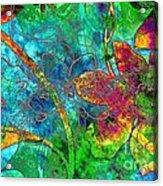 Jazzy Acrylic Print
