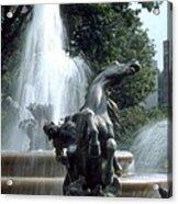 J.c.nichols Fountain 1 Kc.mo Acrylic Print