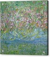 je t'aime Monet Acrylic Print