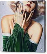 Jean Harlow  @ Ariesartist.com Acrylic Print