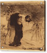 Jean-louis Forain, Christ Stripped Of His Clothes Acrylic Print