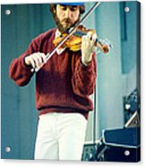 Jean Luc Ponty At The Greek Theater In Berkeley Ca 1980 Acrylic Print