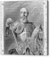 Jean Parisot De La Valette (1494-1568) Acrylic Print