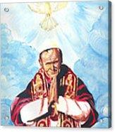 Jean Paul II Acrylic Print