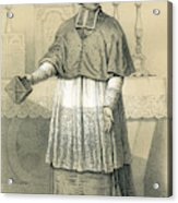 Jean-siffrein Maury  French Priest Acrylic Print
