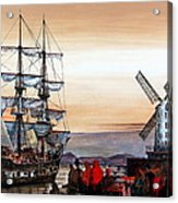 Jeanie Johnston Famine Ship Acrylic Print